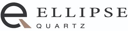 Unique Stone Ellipse Quartz Logo