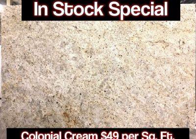 Colonial cream ad