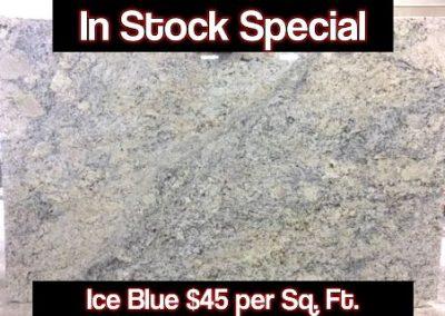 Ice blue ad