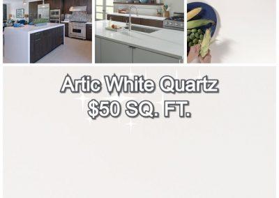 Artic White Quartz ($50)