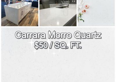 Carrara Morro Quartz ($50)