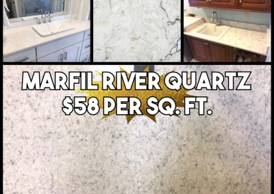 Quartz-Marfil River ($58)